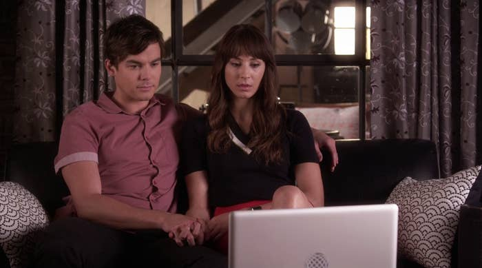 """Caleb and Spencer on """"Pretty Little Liars"""""""