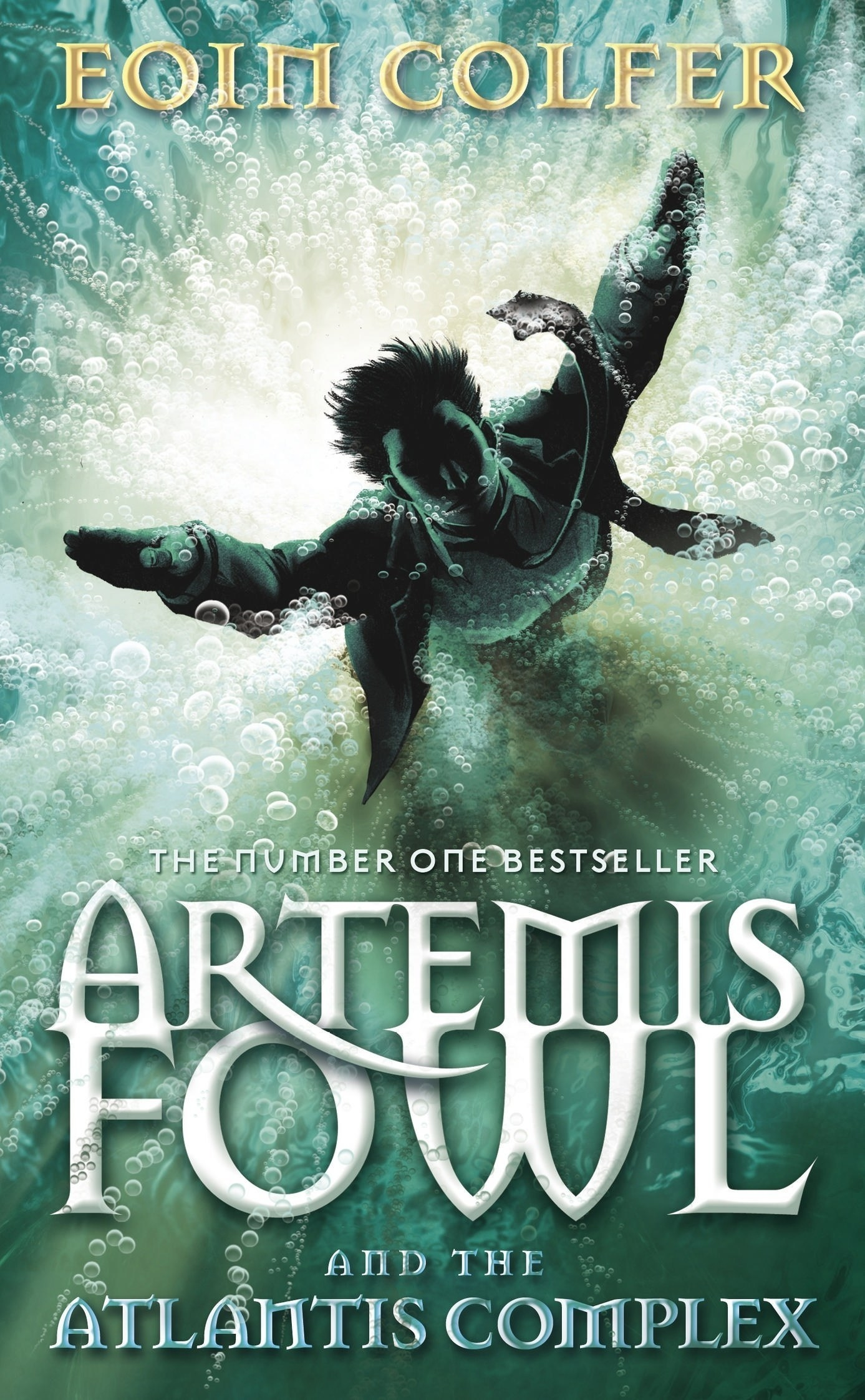 "The cover for ""Artemis Fowl: The Atlantis Complex"""