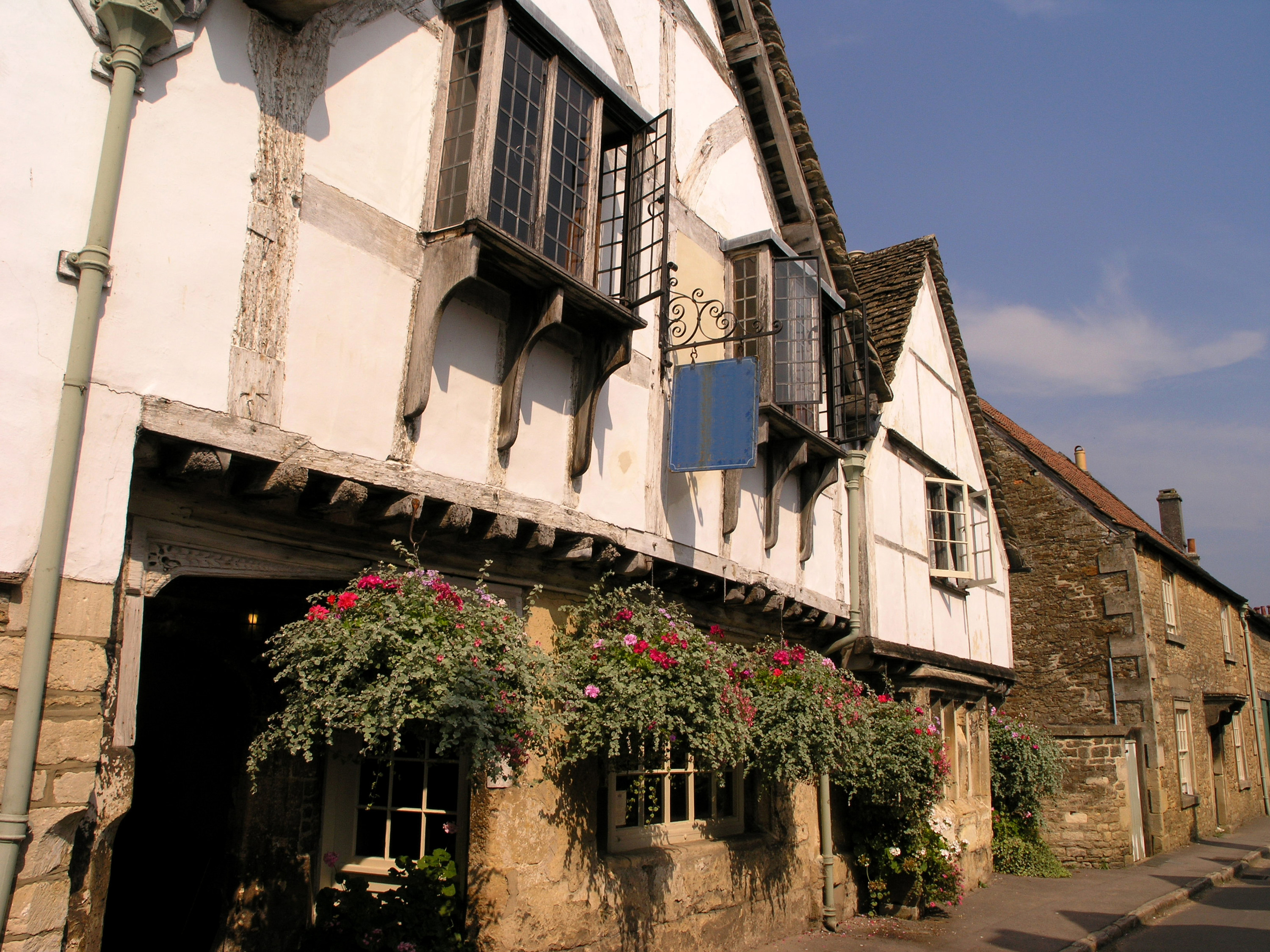 A traditional 15th century inn in Lacock, Wiltshire