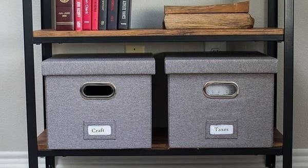 The file organizers in gray