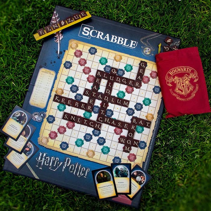 The game board and pieces