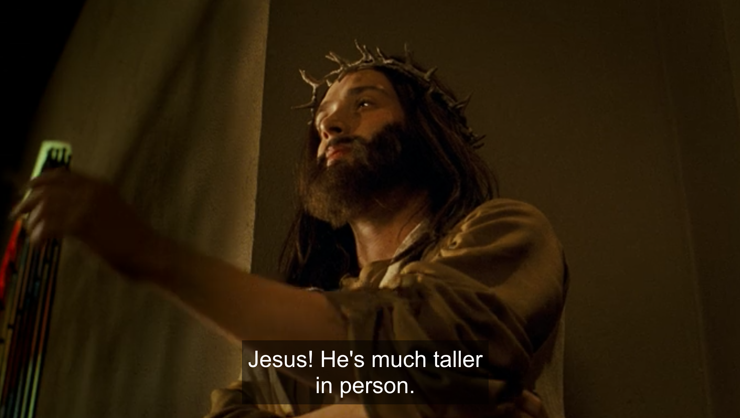 Jesus in Nick & Norah's Infinite Playlist