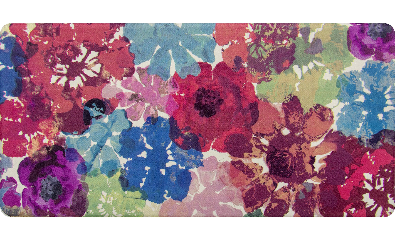 a floral rug