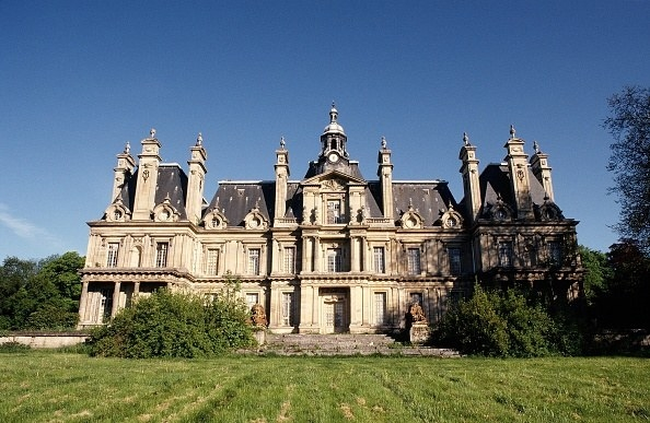 Old chateau fell into disrepair in France