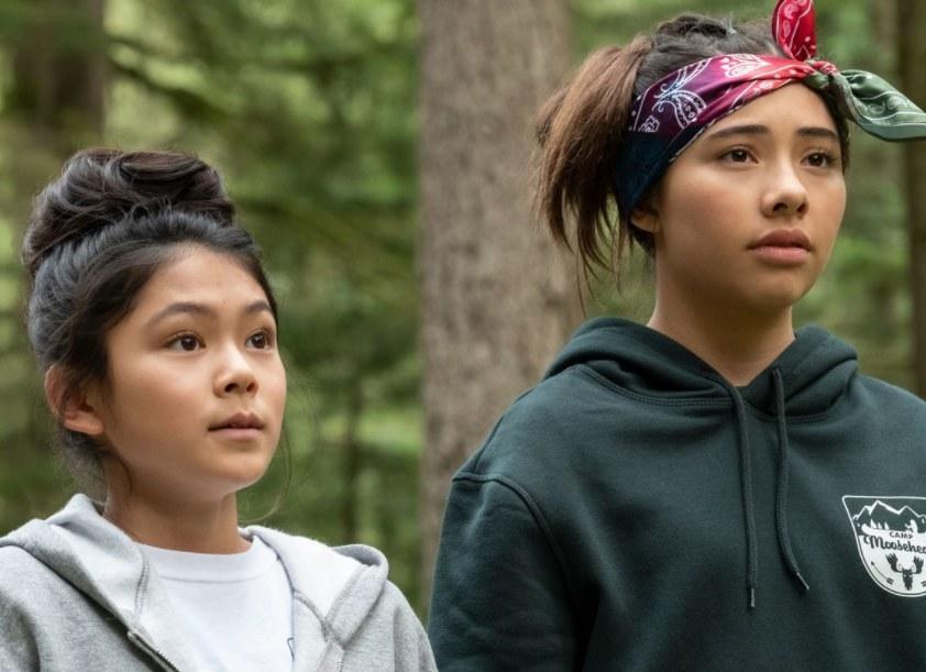 Claudia and Dawn at Camp Moosehead