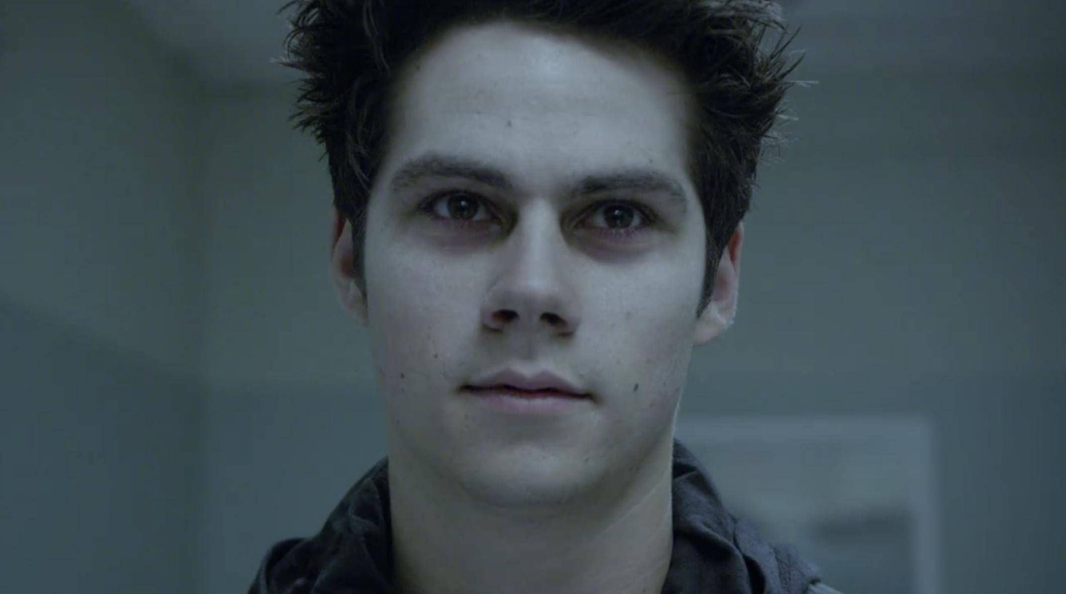 Void Stiles looking menacing in the hospital hall