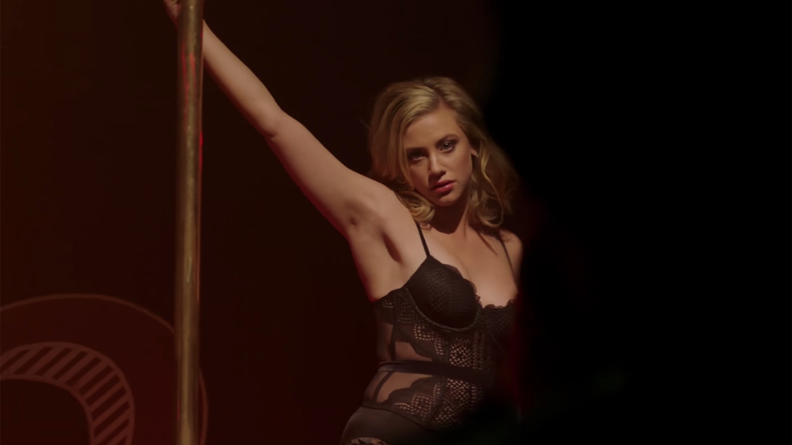 Betty strip dancing