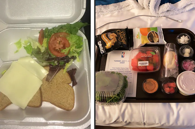 These Pictures Of Food In The NBA And WNBA Quarantine Bubbles Are Really Something