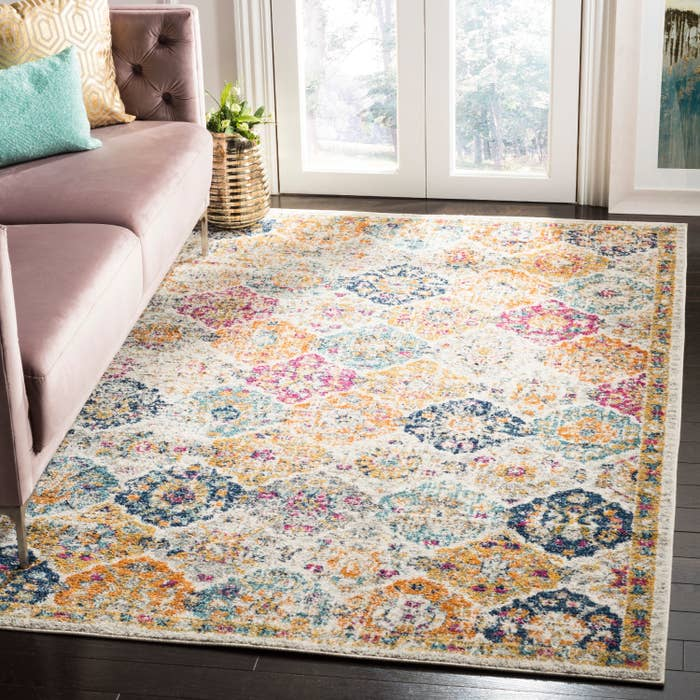 colorful area rug