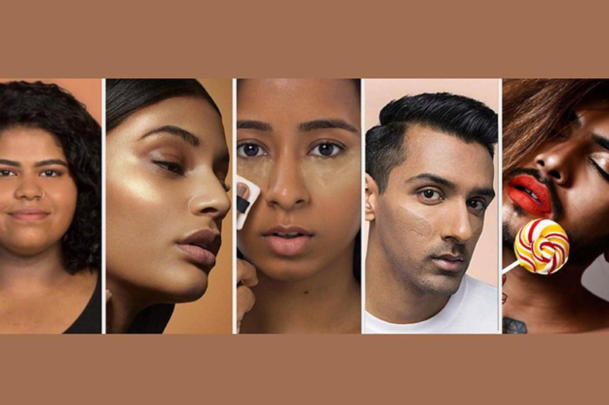 Dark Skin Makeup Brown