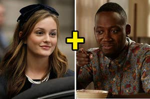 Blair from Gossip Girl and Winston from New Girl
