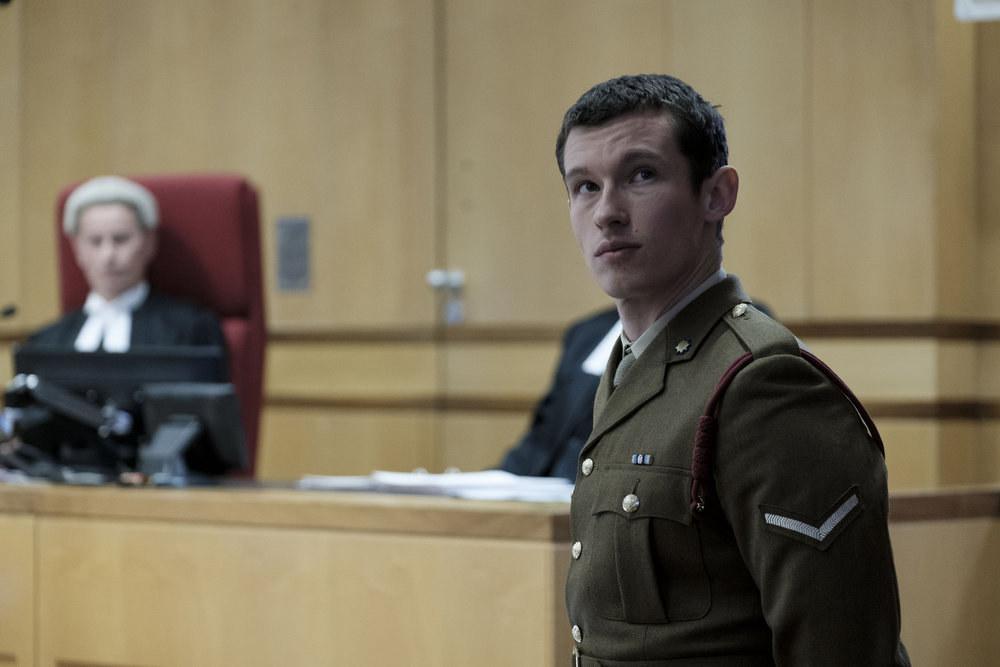Callum Turner as Shaun Emery in The Capture