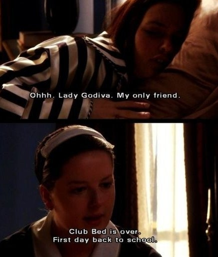 """Blair refuses to get up and Dorota tells her """"Club bed is over"""""""