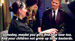 Dorota tells the girls maybe someday they'll find true love and that hopefully their children won't be bastards