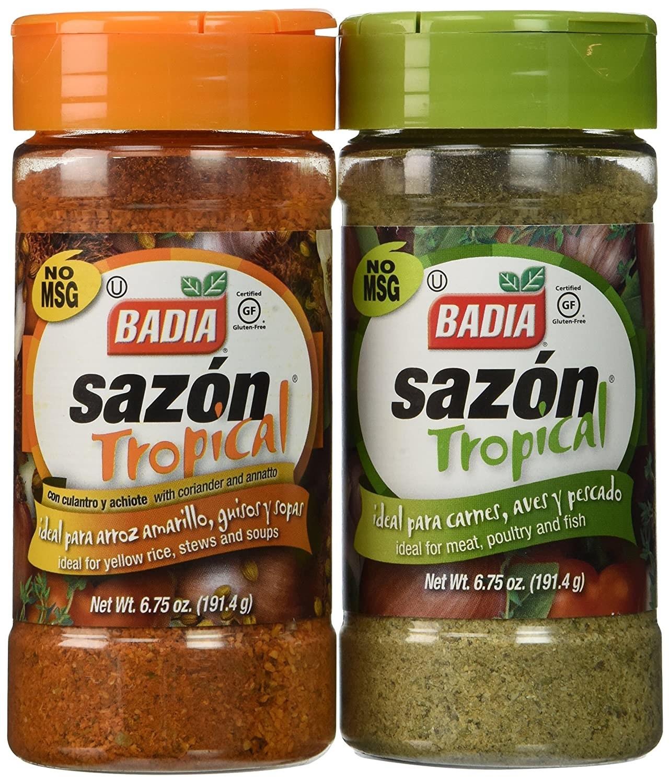 The Badia Sazón Tropical Bundle.