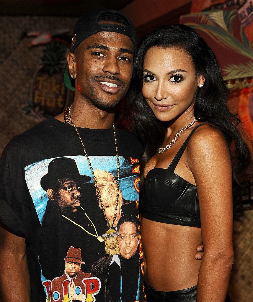 Big Sean and Naya Rivera at an event