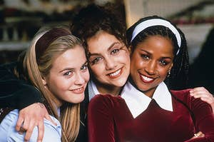 """Cher, Tai, and Dionne from """"Clueless"""" (1995)"""