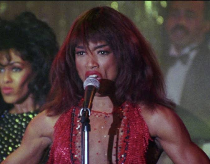 Angela Bassett singing as Tina Turner