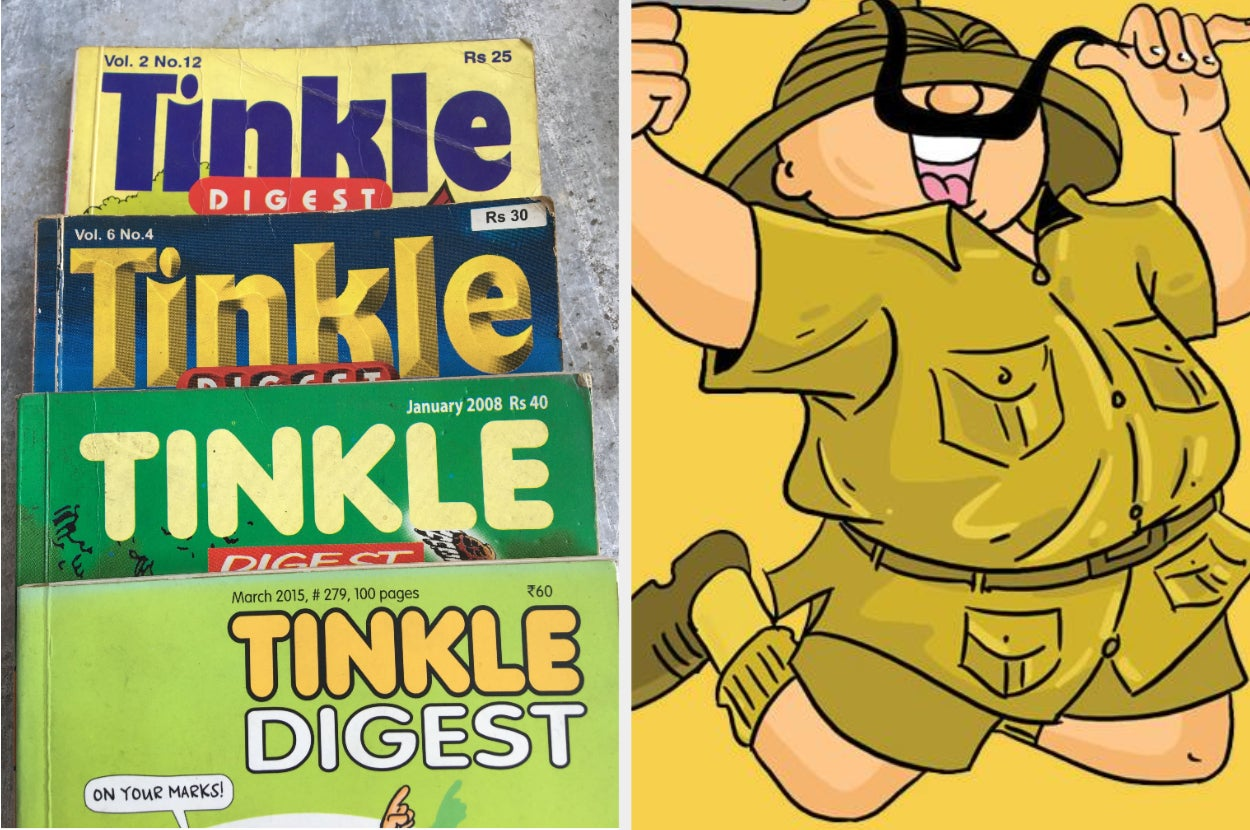 28 Things Only Tinkle Fans Will Really Understand