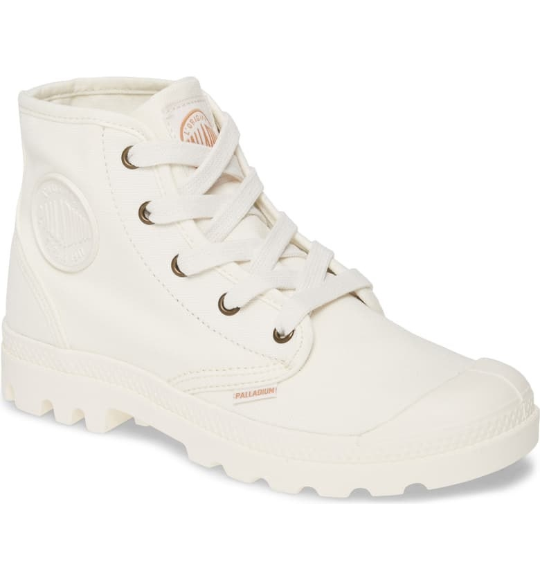 Palladium Pampa Bootie in marshmallow colorway