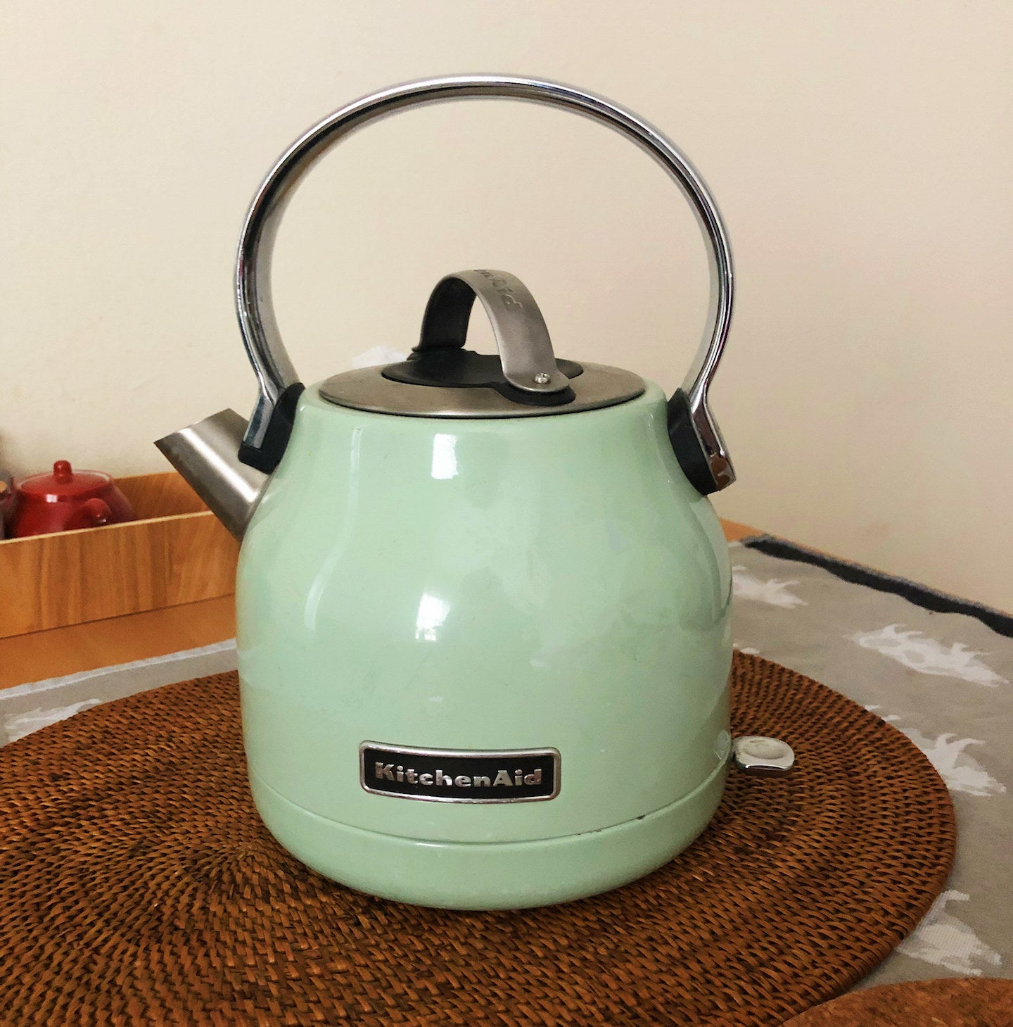 Review image of the kettle taken by me