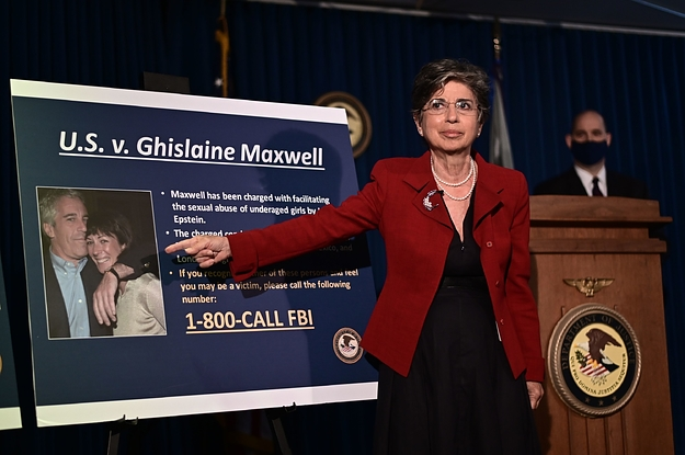 Ghislaine Maxwell, Jeffrey Epstein's Ex-Girlfriend, Has Been Arrested For Helping His Sex Trafficking Ring