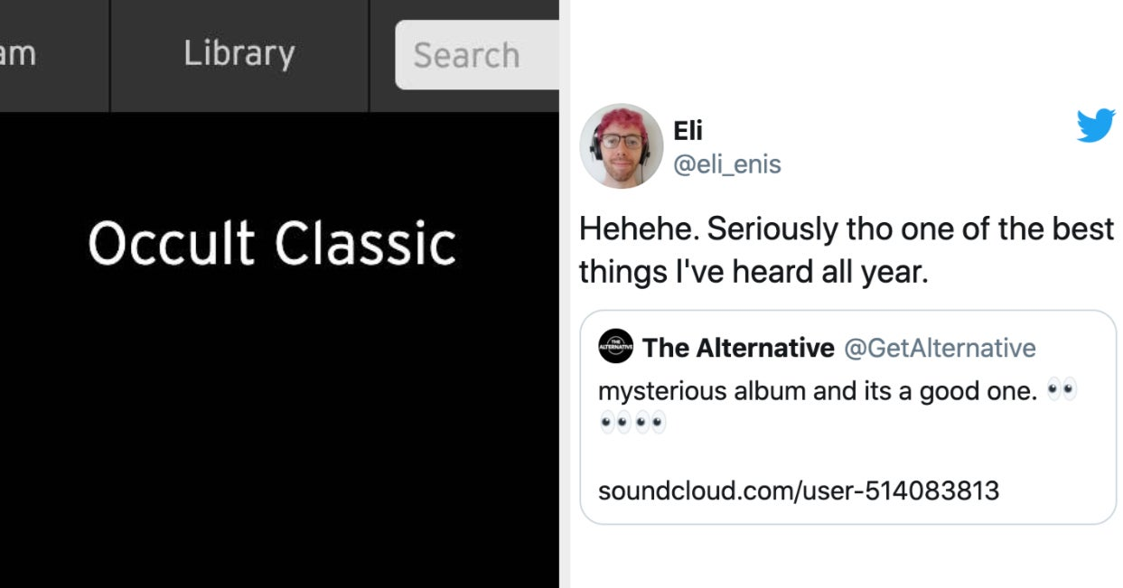 A Mystery Band Dropped An Album Last Night And People On Twitter Are Sleuthing To Find Out Who It Is