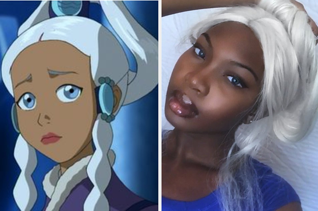 After This Teen Posted A Selfie Comparing Herself To An Avatar The Last Airbender Character She Got Racist Comments