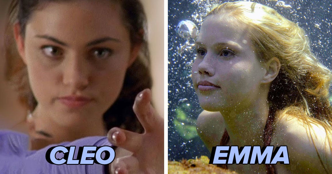 "Everyone's Personality Matches A Mermaid From ""H2O: Just Add Water"" — Who Are You?"