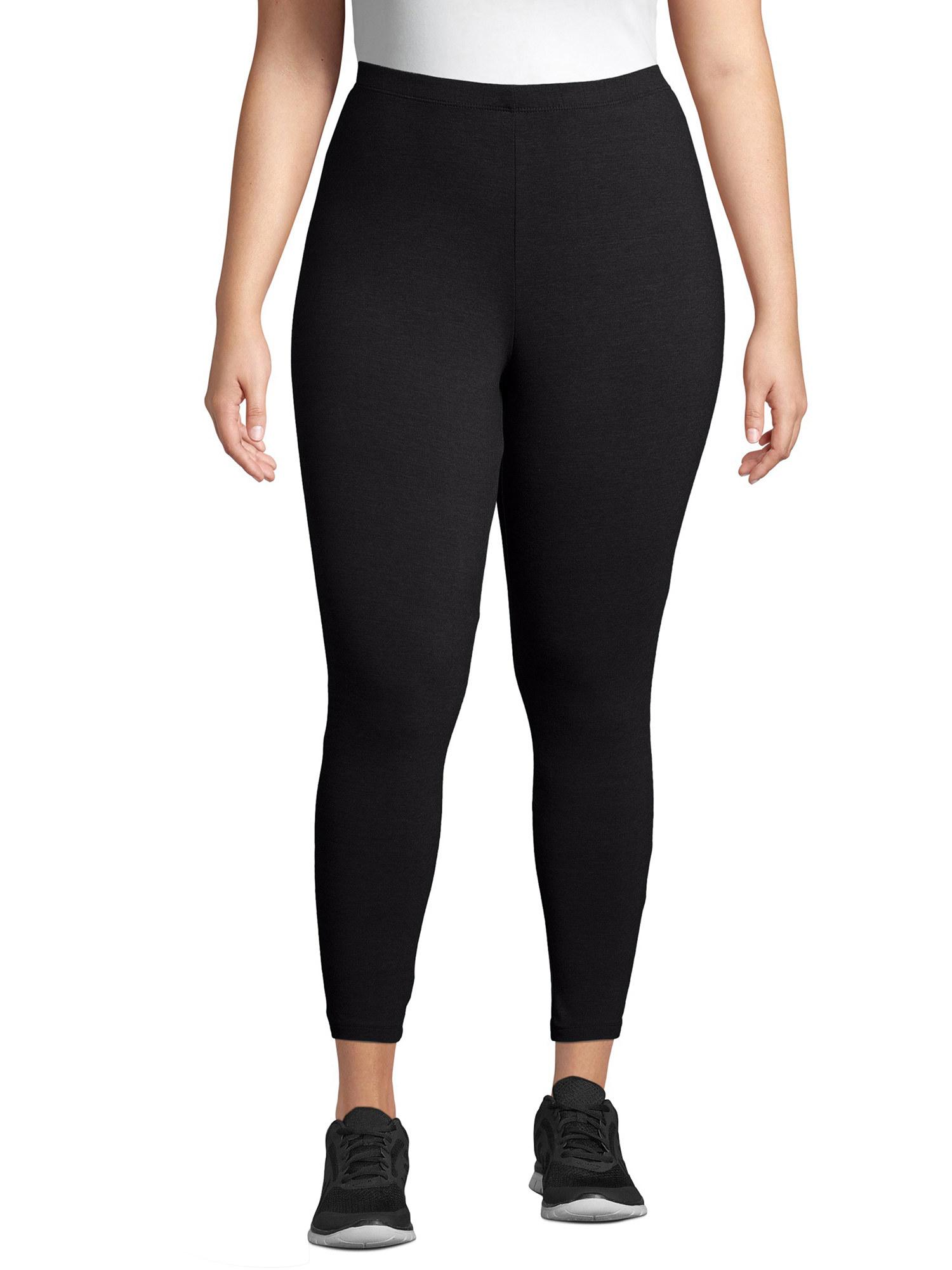 The leggings in black