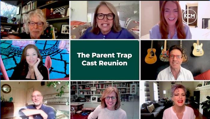 """Parent Trap"" cast reunited"