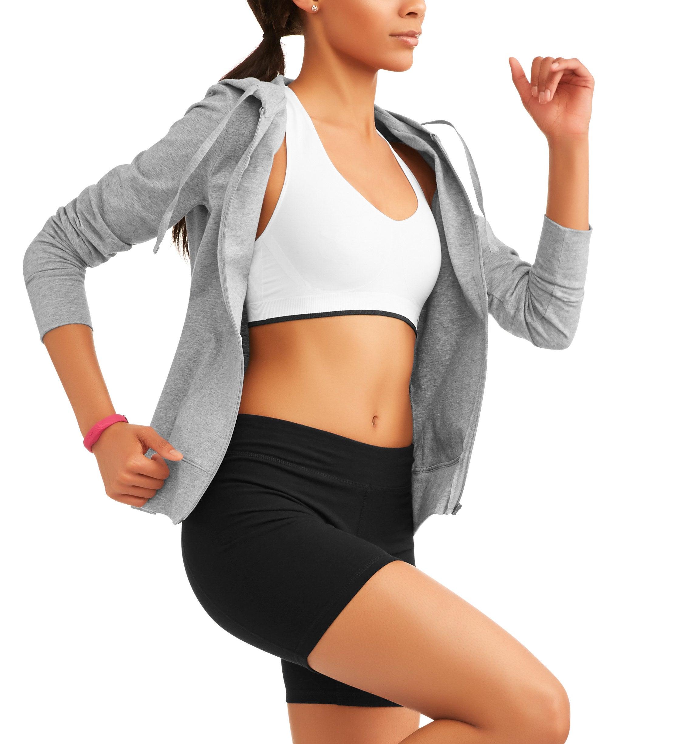 Model wearing the shorts in black