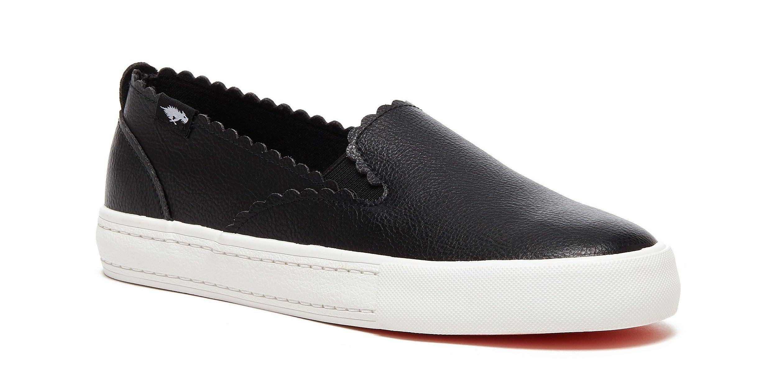 The sneakers in black