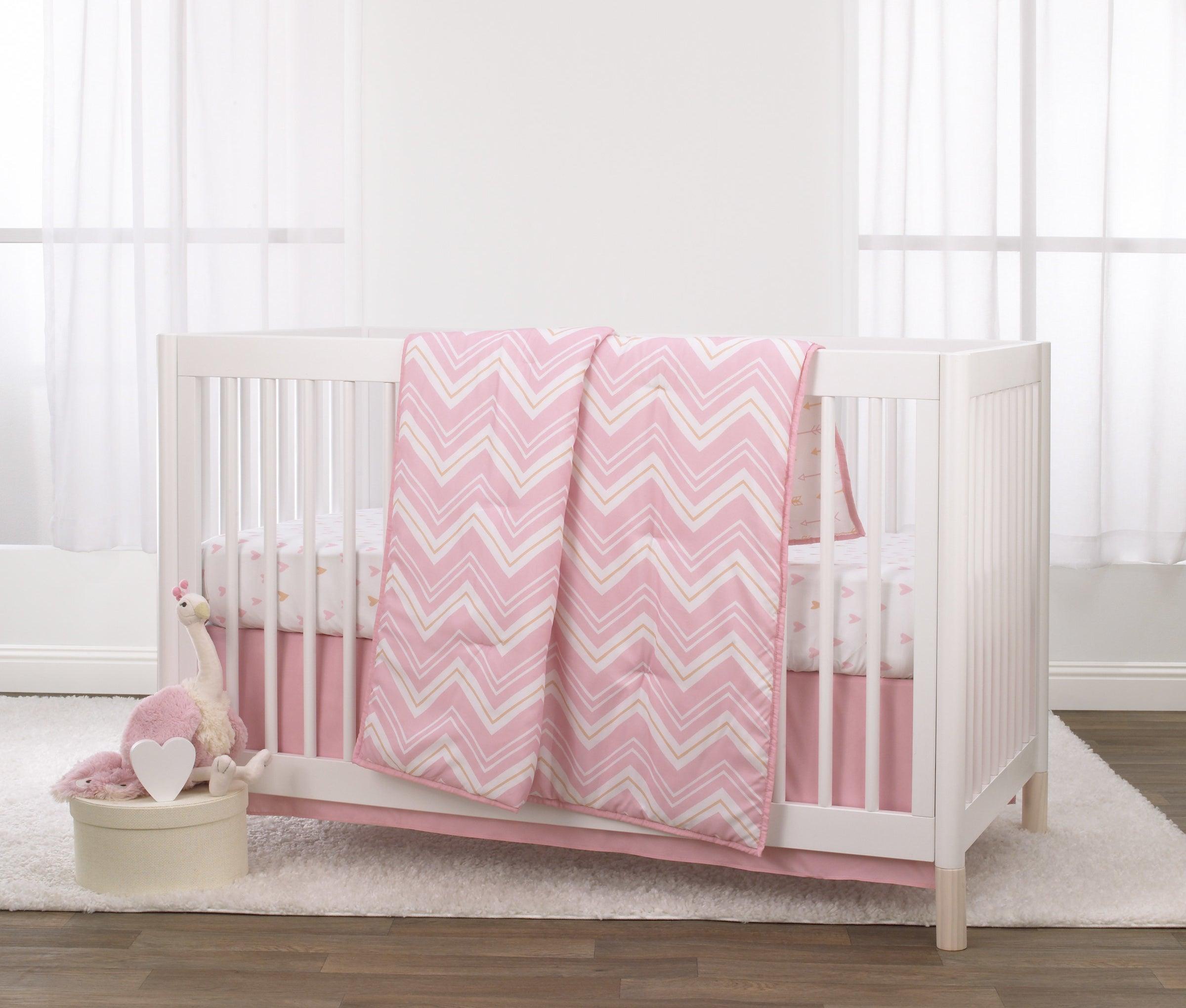 the pink bedding set