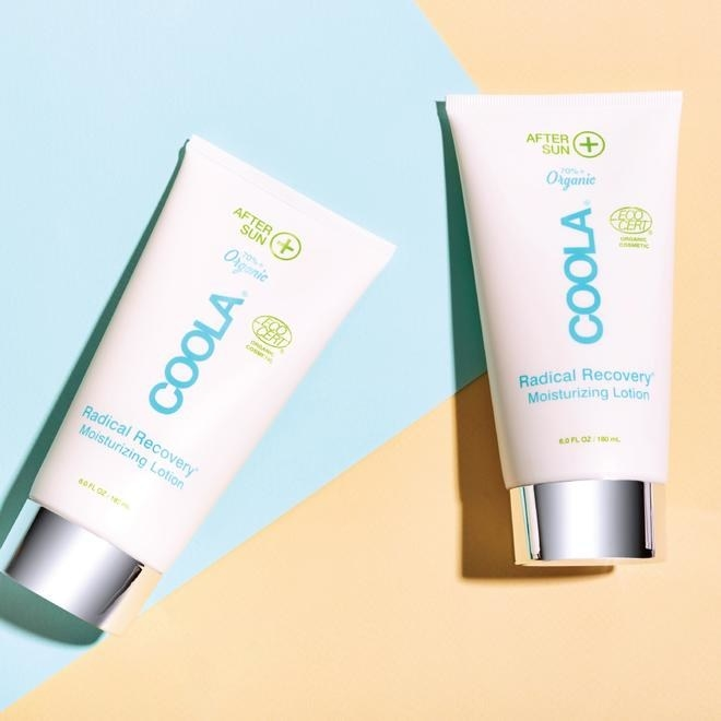 The Coola after sun lotion