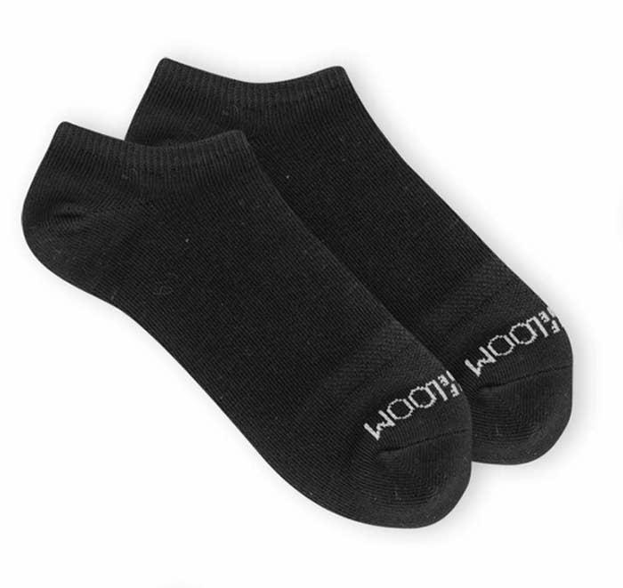 The black socks