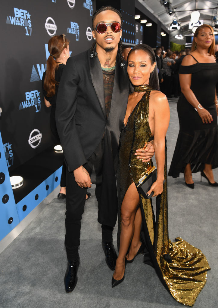 August and Jada together.