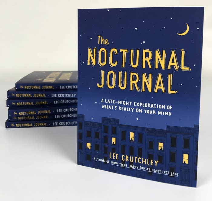 A book called the Nocturnal Journal by Lee Crutchley