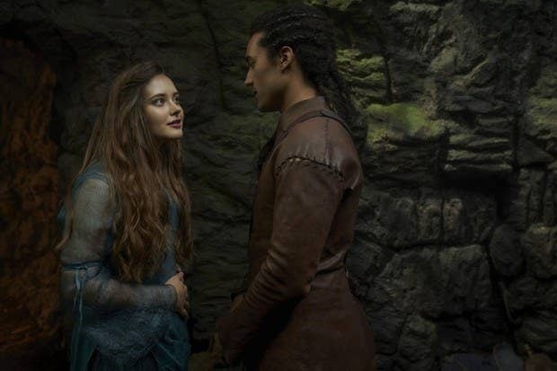 Nimue and Arthur
