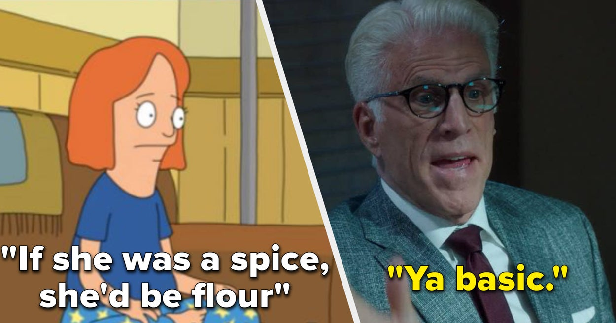 29 TV Insults That Are So Good, You Can Save Them To Use Later thumbnail
