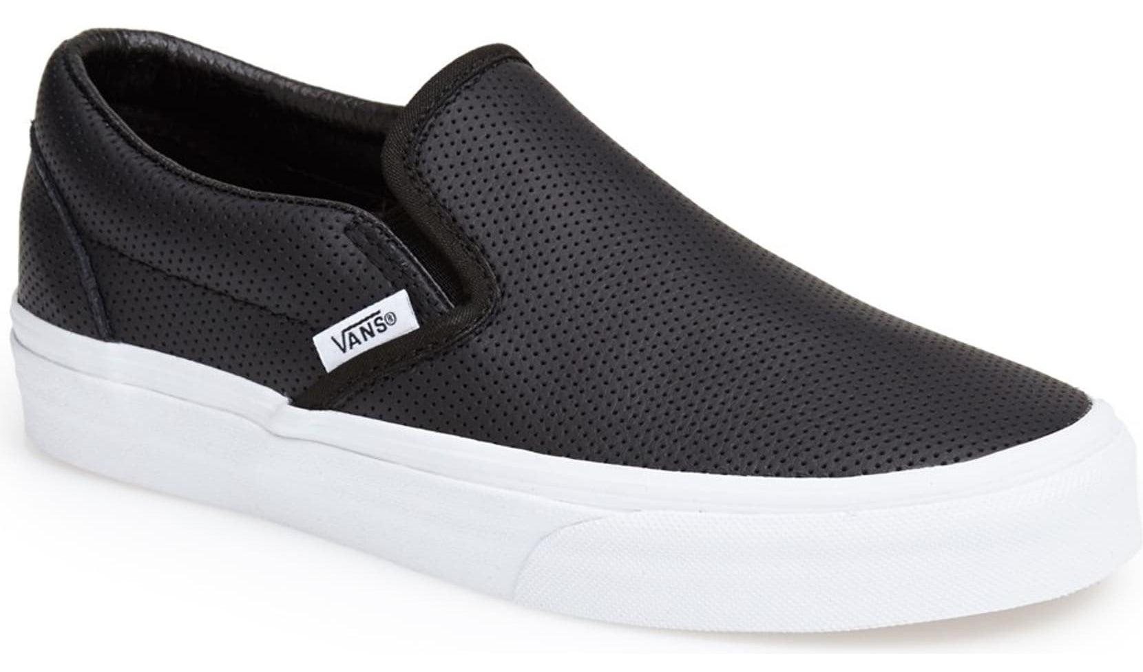 The slip-on sneakers in black