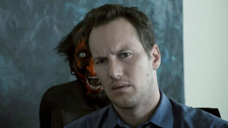 "Demon appearing behind Josh in ""Insidious"""