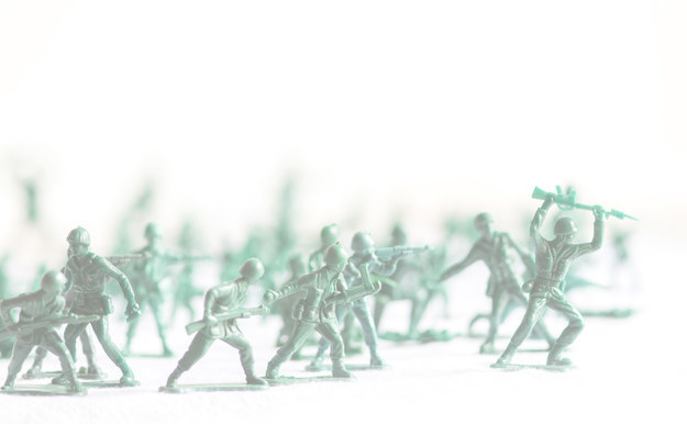 Text reads: type toy soldiers