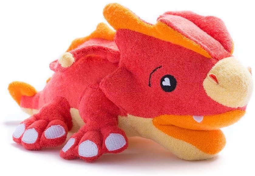 dragon shape soapsox that looks like a push toy