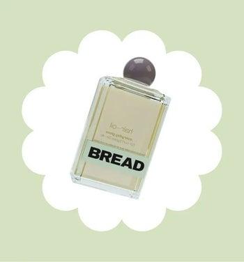 The perfume-like bottle of hair oil