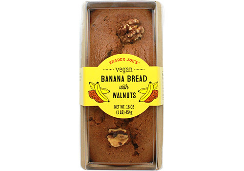 A package of banana bread