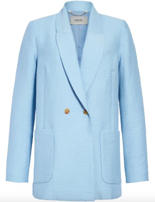 The light blue Rachel Comey blazer.