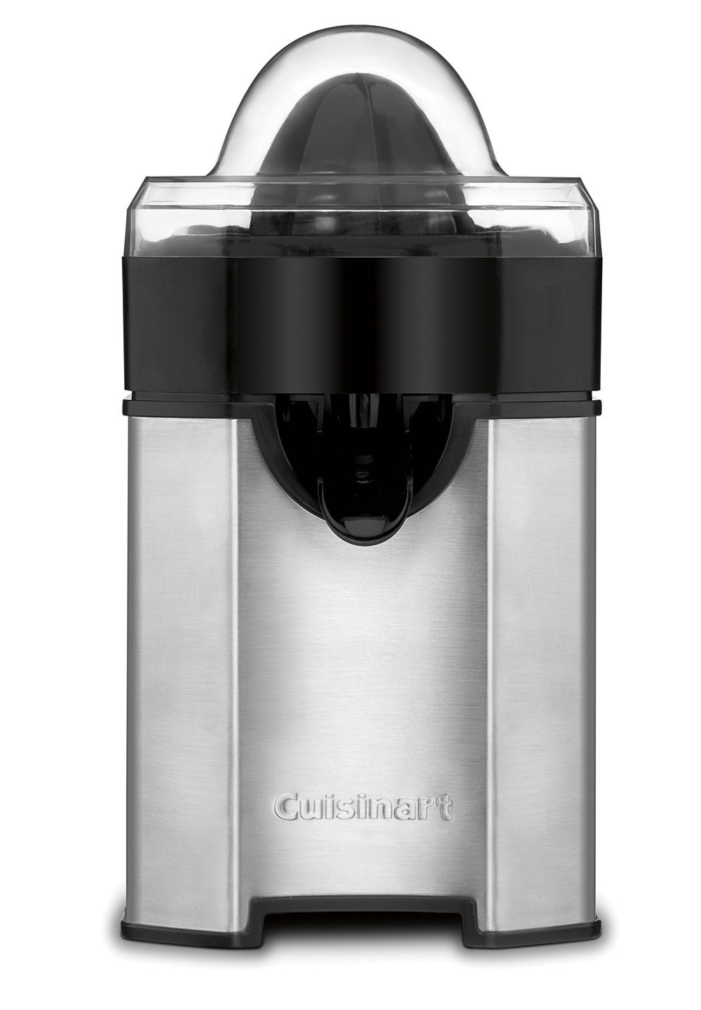 The stainless steel juicer
