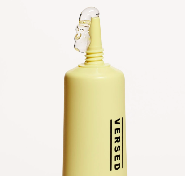 yellow tube spits out clear gel-like liquid