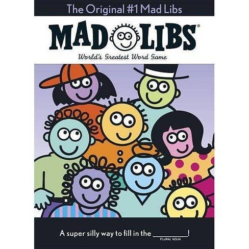 Cover for Mad Libs